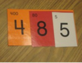 Colored place value