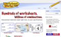 Worksheets and maps