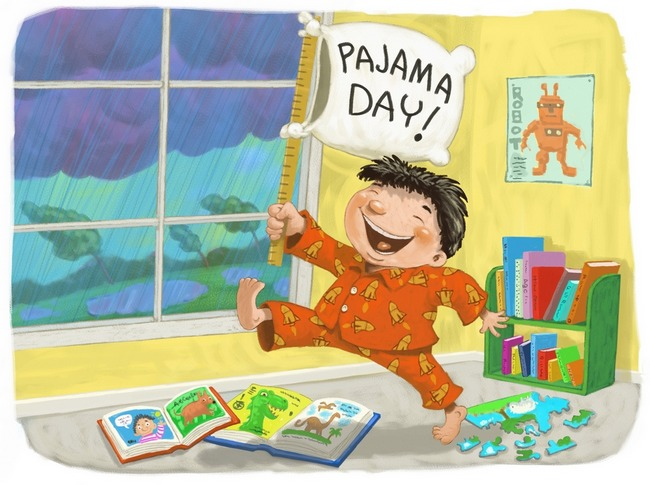 Pajama Day Clipart Images & Pictures - Becuo