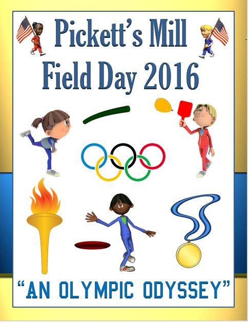 Olympic Field Day Title Page Image